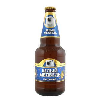 Скидка 30% ▷ Пиво спеціальне Білий Ведмідь Полярне 0,45 л