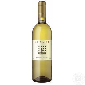 Вино Телавурі сухе біле, червоне Марані 0,75 л