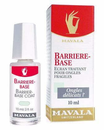 Защитное покрытие Mavala Barrier-Base Coat для слабых ногтей 10 мл