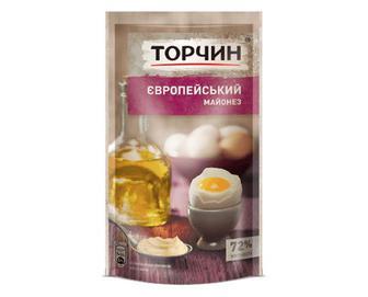 Майонез «Торчин» «Європейський» 72% жиру, 160г