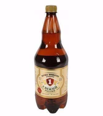 Пиво Свіжий Розлив ППБ 1,2л