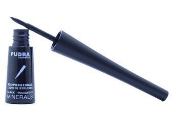 PUDRA cosmetics Professional Підводка для очей чорна 9мл