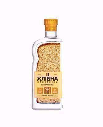 Горілка Житня м'яка/Пшенична м'яка Хлібна половинка 0,45л