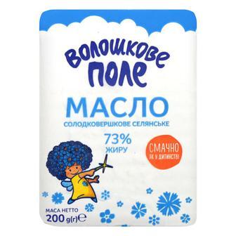 Масло Селянское 73% Волошкове поле 200г