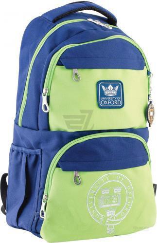 Рюкзак молодіжний YES Oxford OX 233 синьо-зелений 31х46х17 см