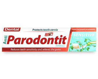 Паста зубна Dental Antiparodontit Sensitive, 100мл