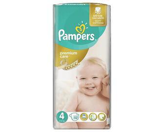 Підгузки Pampers Premium Care Maxi VP, 52шт/уп