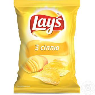 Чіпси картопляні Лейс 71г