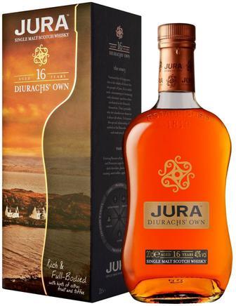 Скидка 28% ▷ Виски Isle Of Jura 16 years old 0.7 л
