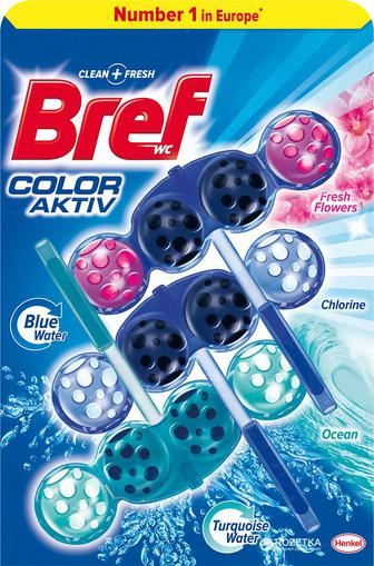 Засоби для туалету Сила Актив кольорова вода Бреф, 50