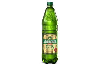 Пиво «Львівське» «1715» світле, 1,2л