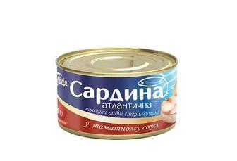 Консерви Сардина атлантична у томатному соусі Своя Лінія 240 г