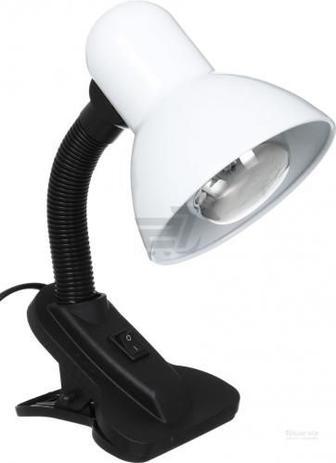 Настільна лампа офісна Accento lighting 1x40 Вт E27 білий
