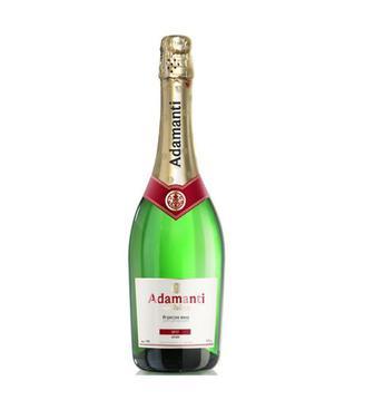 Вино игристое Адаманти Брют, п/с, белое 13% 0,75 л,