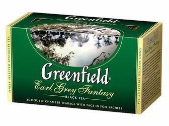 Чай травяной, зеленый    Гринфилд 25 пак.