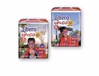 Підгузки-трусики Libero Up&Go Розмір 5 (10-14 КГ) 22 шт