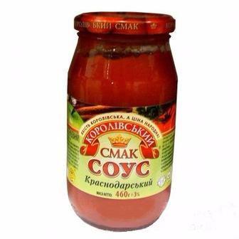 Соус томатний Краснодарський Королівський смак 460 г