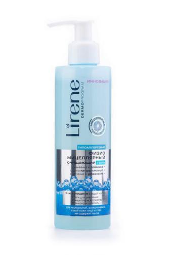 Физио-мицелярный гель Lirene Beauty Care Очищающий, 200мл