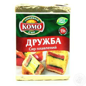 Сыр Комо Дружба плавленый пастообразный 55% 90г