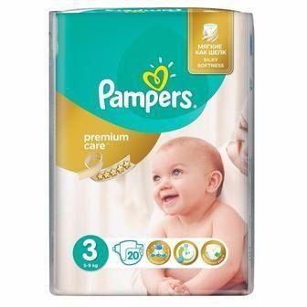 Подгузники для детей Pampers Premium