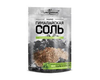 Гімалайська сіль харчова Приправка, зі середземноморськими травами, 200 г