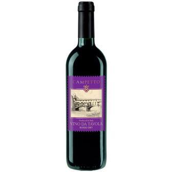 Вино Camretto Rosso Dry червоне сухе 0,75л
