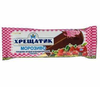 Морозиво плодово-ягідне Хрещатик 80г