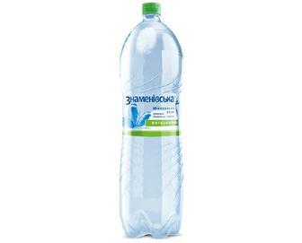 Вода мінеральна Знаменівська, негазована, 2 л