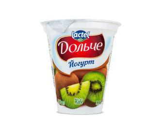 Йогурт Дольче, 3,2% з наповнювачем ківі, 280г