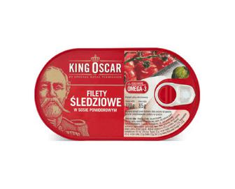 Оселедець King Oscar філе в томатному соусі, 170г