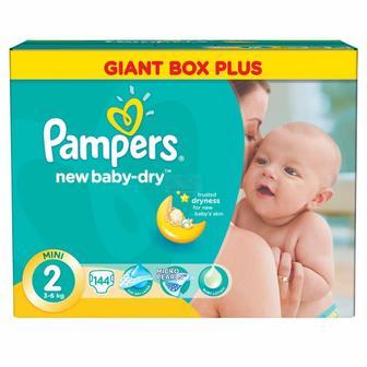 31cea9a3bdf7 Скидка 22% ▷ Детские подгузники Pampers Active Baby-Dry Mini 2 (3-6 ...