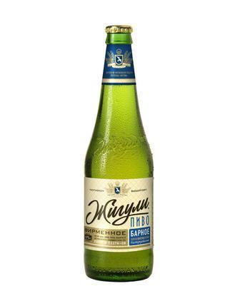 Пиво Фірмове барне світле нефільтроване Жигулі 0,5л