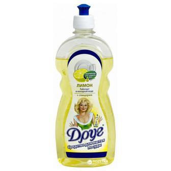 Средство для мытья посуды Друг Лимон 500 мл