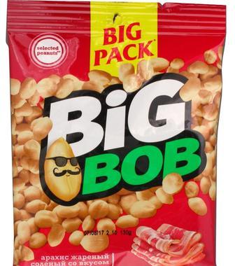 Арахіс сіль, Арахіс бекон, Big Bob, 130 г