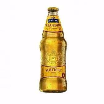 Пиво Розливне, Розливне М`яке Балтика 0.44 л