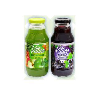 НЕКТАР Мультивітамін зелений, Чорна смородина, 330 мл VITTICA