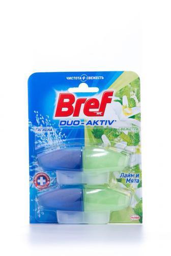 Чистящее средство для туалета Bref Дуо Актив запаска, 2*50г