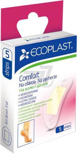 Набір пластирів ECOPLAST на вологі мозолі Comfort 5 шт.