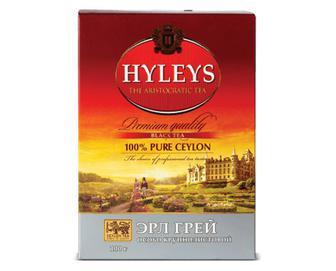 Чай чорний Hyleys «Ерл Грей» крупнолистовий, 100г