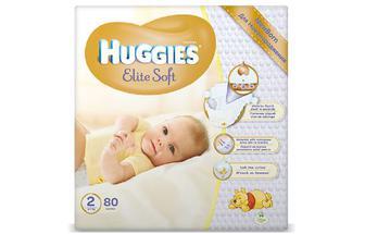Підгузки Huggies Elite Soft 2 (4–7 кг) 80 шт./уп