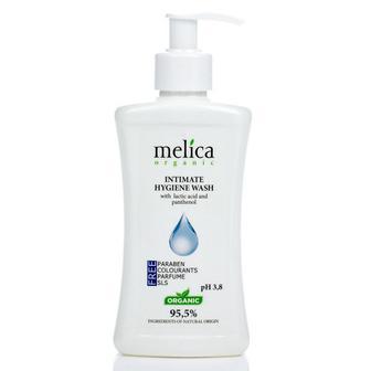 Средство для интимной гигиены Melica с молочной кислотой и пантенолом, 300 мл