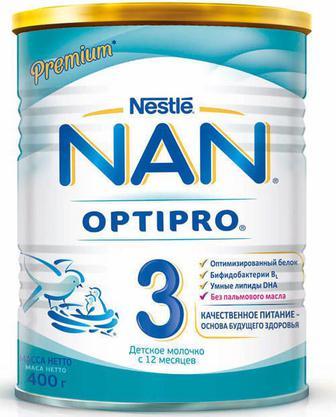 Смесь молочная Nestle NAN 3 (с 12 месяцев) 400 г