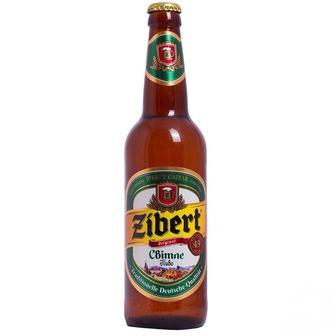 """Пиво Світле 4,4%,  """"Zibert"""", 0,5л"""