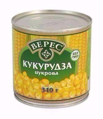 Кукурудза Верес 340 г
