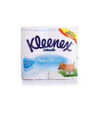 Туалетная бумага Kleenex Cottonelle Natural Care