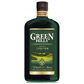 Бальза Хербал лікер 20% Green Hills 0.5 л