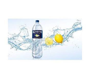 Скидка 25% ▷ Вода Buvette мінеральна зі смаком лимона 1.5л