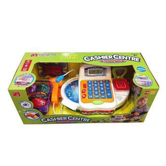 Игровые наборы Кассовый аппарат с аксессуарами Shantou Jinxing Cashier Centre (FS-34542)