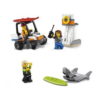 Конструктор Береговая охрана LEGO CITY стартовый набор (60163)