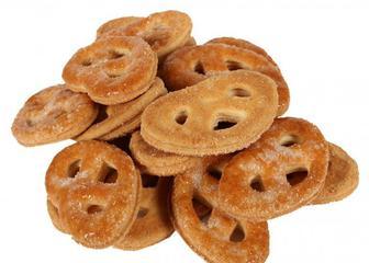 Печиво Крендельки з кокосом, Київхліб, 0,26 кг